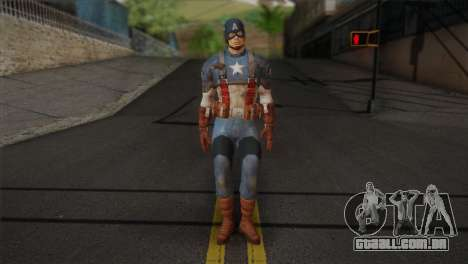 Captain America v1 para GTA San Andreas