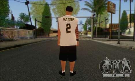 Vagos from GTA 5 Skin 1 para GTA San Andreas segunda tela
