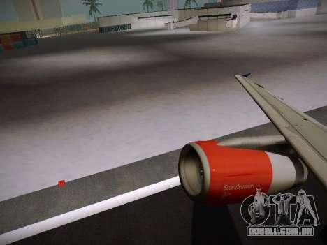 Airbus A319-132 Scandinavian Airlines para GTA San Andreas
