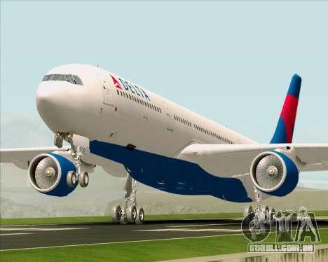 Airbus A330-300 Delta Airlines para GTA San Andreas