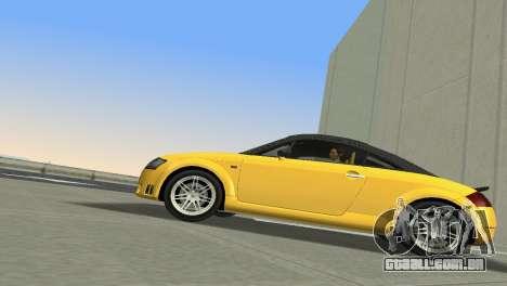Audi TT Coupe BiMotor Black Revel para GTA Vice City