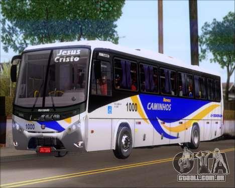 Marcopolo Ideale 770 - Volksbus 17-230 EOD para GTA San Andreas traseira esquerda vista