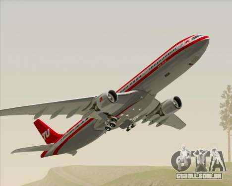 Airbus A330-300 LTU International para GTA San Andreas