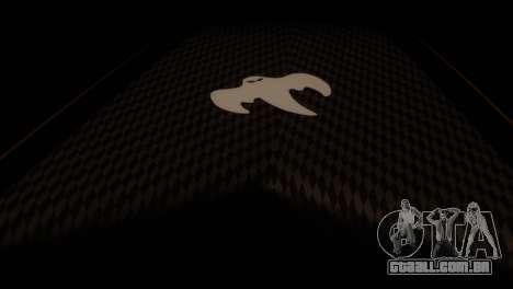Koenigsegg Agera R para GTA San Andreas vista direita