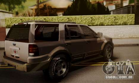 Ford Expedition 2006 para GTA San Andreas esquerda vista