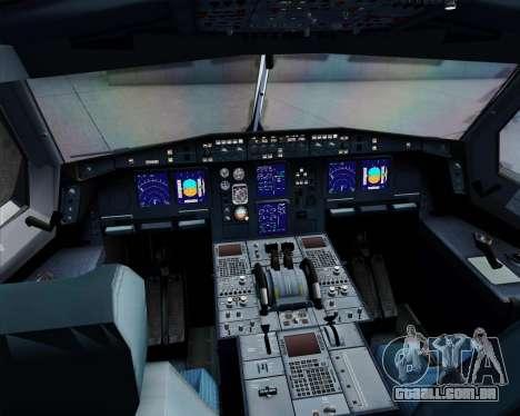 Airbus A340-312 TAP Portugal para GTA San Andreas vista superior