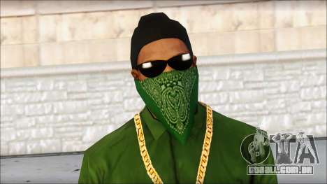 New CJ v4 para GTA San Andreas terceira tela