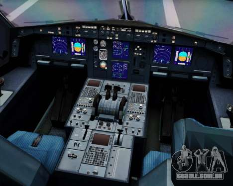 Airbus A330-300 LTU International para GTA San Andreas interior