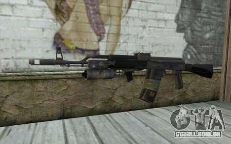 AK-101 com a segurança dos nossos (Battlefield 2 para GTA San Andreas