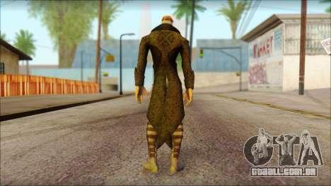 Gambit Deadpool The Game Cable para GTA San Andreas segunda tela