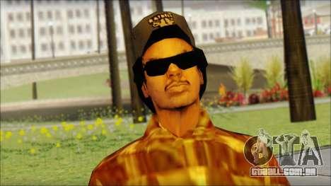 Eazy E Lumberjack Skin para GTA San Andreas terceira tela