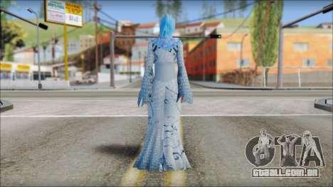 Gaza Tina Armstrong para GTA San Andreas segunda tela