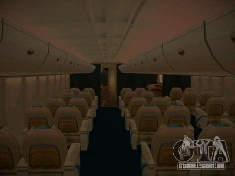 Airbus A380-800 Lufthansa para o motor de GTA San Andreas