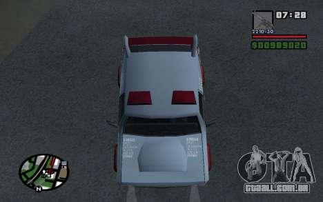 Atualizado Sandking para GTA San Andreas vista direita