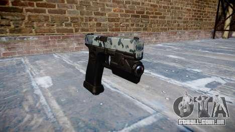 Pistola Glock de 20 crânios para GTA 4