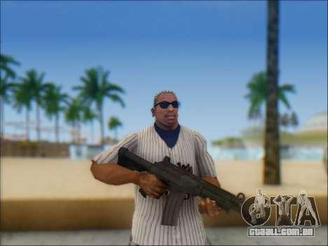 Israelenses carabina ÁS 21 para GTA San Andreas terceira tela