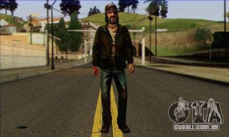 Kenny from The Walking Dead v3 para GTA San Andreas