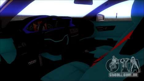 A Mercedes-Benz CL65 AMG para GTA San Andreas vista direita