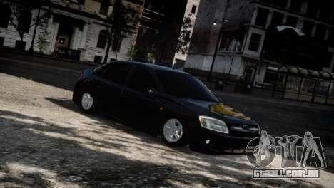 Lada Granta para GTA 4 vista inferior