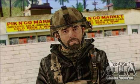 Task Force 141 (CoD: MW 2) Skin 14 para GTA San Andreas terceira tela