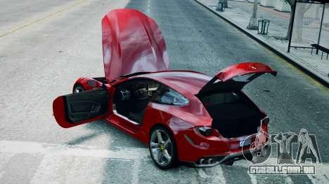 Ferrari FF para GTA 4 vista direita