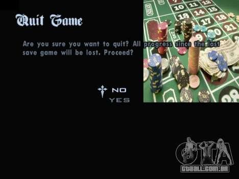 Menu Gambling para GTA San Andreas