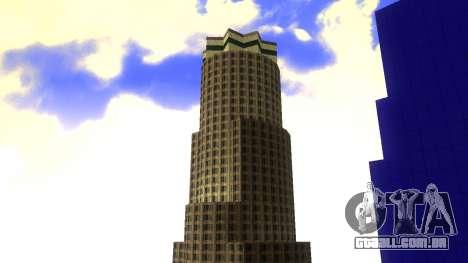 HD textura quatro arranha-céus de Los Santos para GTA San Andreas quinto tela
