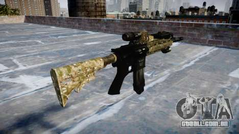 Automatic rifle Colt M4A1 devgru para GTA 4 segundo screenshot