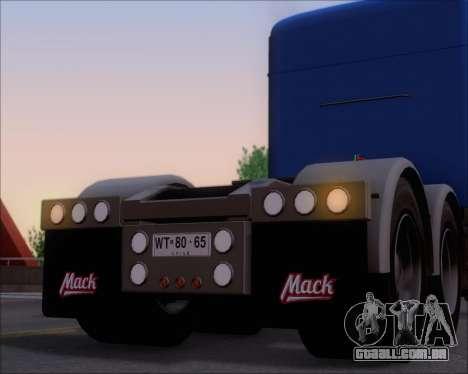 Mack Pinnacle 2006 para as rodas de GTA San Andreas