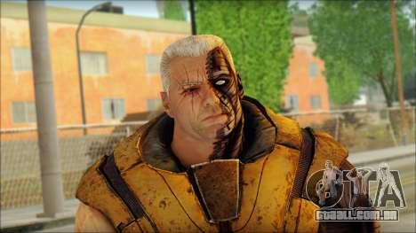 Deadpool The Game Cable para GTA San Andreas terceira tela