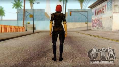 Mass Effect Anna Skin v5 para GTA San Andreas segunda tela