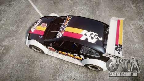 Zenden Cup K&N Airfilters para GTA 4 vista direita