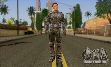 Айсмен (X-Men, O Jogo Oficial) para GTA San Andreas