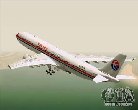 Airbus A330-300 China Eastern Airlines para o motor de GTA San Andreas