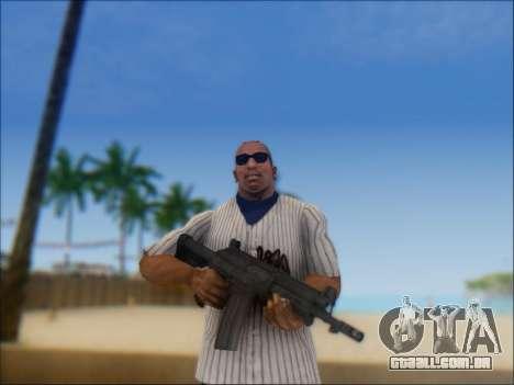 Israelenses carabina ÁS 21 para GTA San Andreas segunda tela
