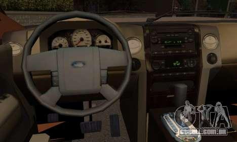 Ford Expedition 2006 para GTA San Andreas traseira esquerda vista