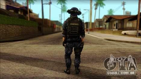 MG from PLA v3 para GTA San Andreas segunda tela