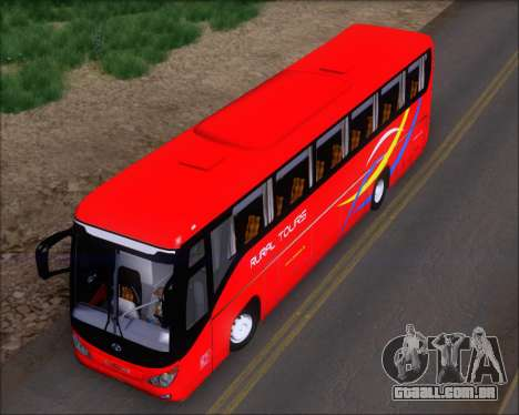 Yanson Viking 4th Generation Rural Tours 10010 para GTA San Andreas vista traseira