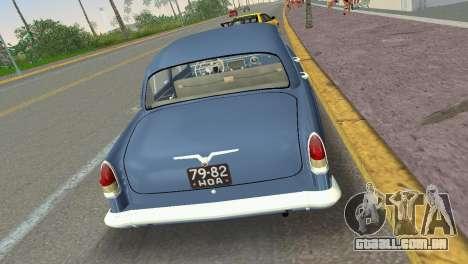 GAZ-21R Volga 1965 para GTA Vice City vista direita