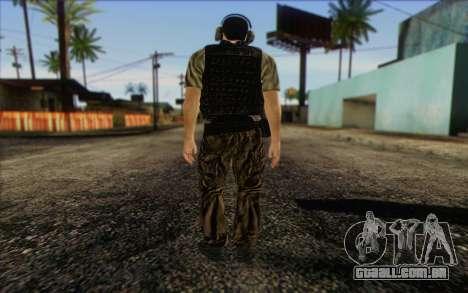 Asano from ArmA II: PMC para GTA San Andreas segunda tela