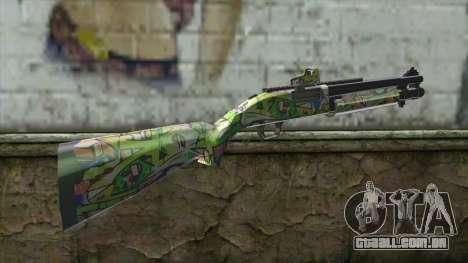 Graffiti Shotgun para GTA San Andreas segunda tela
