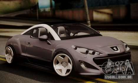 Peugeot RCZ para GTA San Andreas