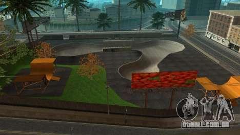 A textura, o Parque de skate e um hospital em Lo para GTA San Andreas terceira tela