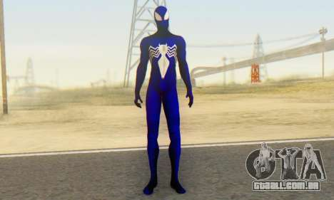 Skin The Amazing Spider Man 2 - Suit Symbiot para GTA San Andreas segunda tela