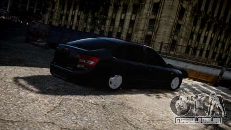 Lada Granta para GTA 4 vista superior