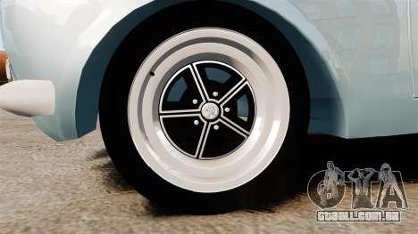 Peugeot 504 para GTA 4 vista de volta