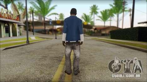 Franklin from GTA 5 para GTA San Andreas segunda tela