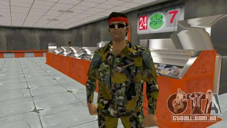 Camo Skin 16 para GTA Vice City terceira tela