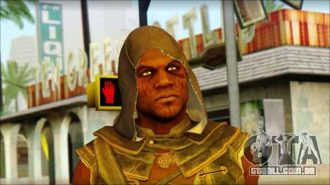 Adewale from Assassins Creed 4: Freedom Cry para GTA San Andreas terceira tela