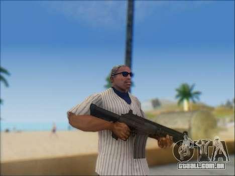 Israelenses carabina ÁS 21 para GTA San Andreas décimo tela